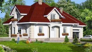 Проект  Дом в нектаринах 2, 178.9 м2