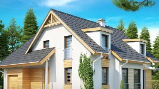 Проект дома Проект Z135, 198.3 м2