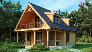 Проект дома Проект z30, 101 м2