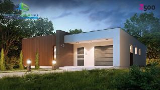 Проект дома Проект zx49, 159.5 м2