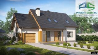 Проект дома Проект z92gl, 194.2 м2