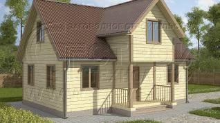 Проект дома Проект дома №68, 64 м2