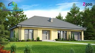 Проект дома Проект z123, 157.5 м2