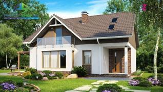 Проект дома Проект z128, 157.1 м2