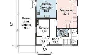 Проект дома AS-2157, 145 м2