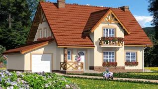 Проект  Дом в горошке 3, 187.3 м2