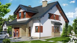 Проект  Дом в одуванчиках (Н), 130.5 м2