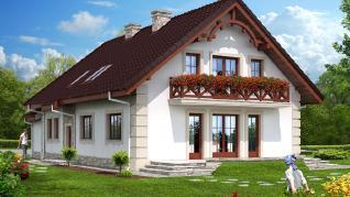 Проект  Дом в функиях, 220.6 м2