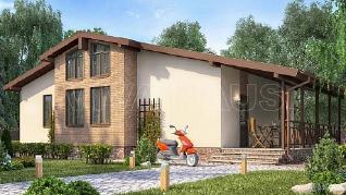 Проект  Дом БЛЮЗ, 119 м2