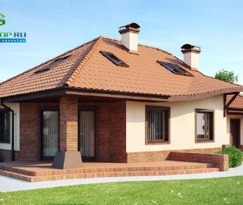 Проект дома Проект z56, 216.7 м2