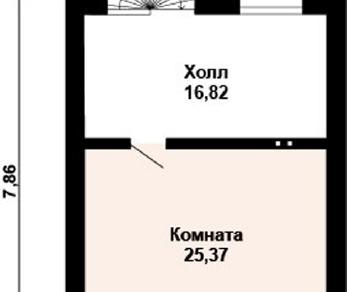 Проект дома AS-2120, 121 м2