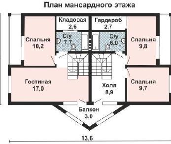 Проект дома AS-2189-2, 159 м2