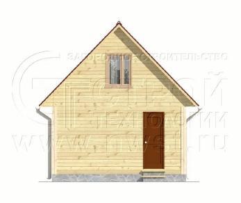 Проект дома Дачный дом 5х6 м (базовая комплектация), 30 м2