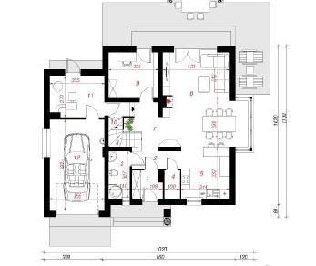 Проект  Дом в тамарисках 2 (Н), 185.2 м2