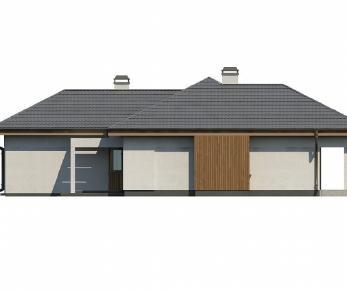 Проект дома Проект Z289, 149.4 м2