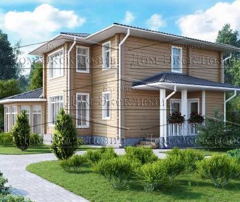 Проект дома Проект ДН-208, 208.07 м2