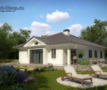 Проект дома Проект z207, 176.8 м2