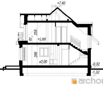 Проект  Дом в рододендронах 3, 103 м2