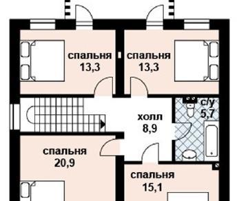 Проект дома AS-2032, 156 м2