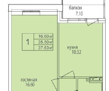 Продажа квартиры Понтонная ул. к. 1