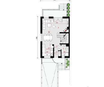 Проект  Дом в цикламенах 4 (ПБ), 132.6 м2