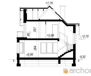 Проект  Дом в клюкве 2, 143.7 м2
