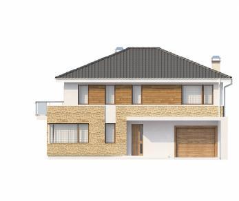 Проект дома Проект Zx29, 192.6 м2