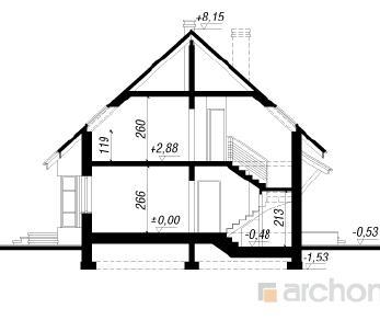 Проект  Дом в папоротнике 3, 145.7 м2