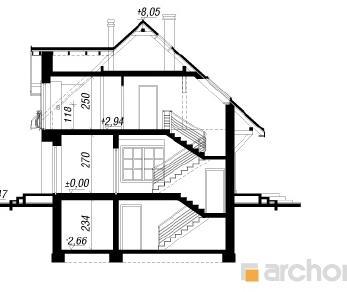 Проект  Дом в люцерне (П), 211.1 м2
