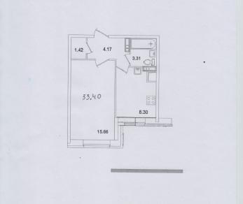 Продажа квартиры Кудрово, Европейский пр., д.14к3