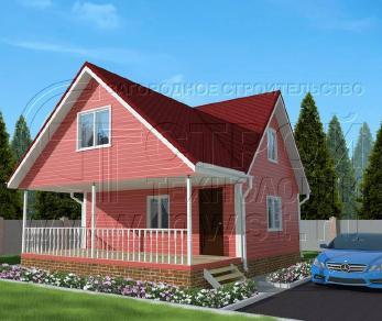 Проект дома Проект дома №82, 63 м2