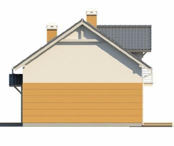 Проект дома Проект Z65, 126.7 м2
