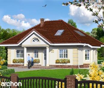 Проект  Дом в ежевике 3, 113.4 м2