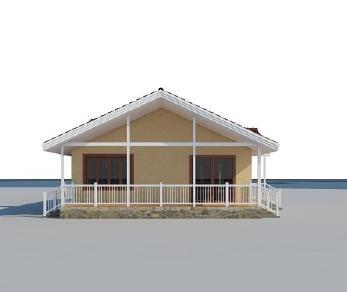 Проект дома AS-2144-2, 105 м2