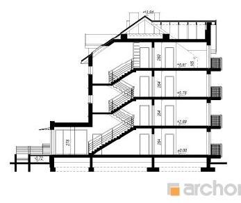 Проект  Дом у бульвара 10, 662.9 м2
