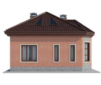Проект дома AS-2135, 166 м2