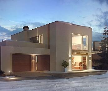 Проект дома Проект zx64, 214.6 м2