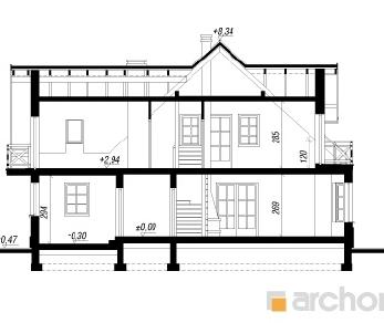 Проект  Дом в скальниках 2, 172.7 м2