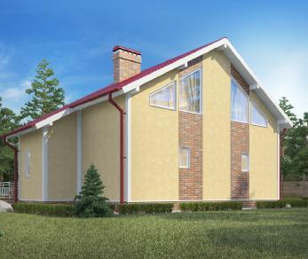 """Проект дома Дуплекс """"Яна"""", 160 м2"""