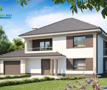 Проект дома Проект zx12, 206.2 м2