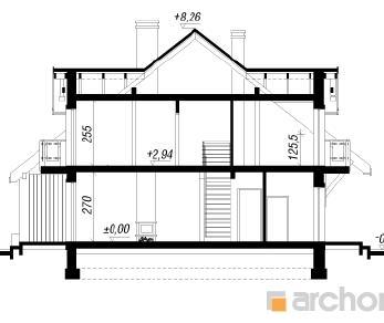 Проект  Дом в цикламенах 3(С), 137.9 м2