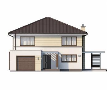 Проект дома Проект Zx33, 202 м2
