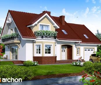 Проект  Дом в ренетах, 202.6 м2