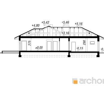 Проект  Дом в амаранте, 203.6 м2