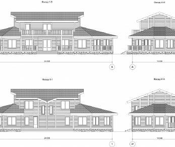 Проект дома КП-023, 272 м2