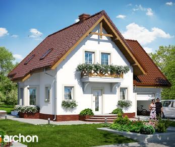 Проект  Дом в винограде 5, 157.3 м2