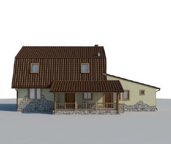 Проект дома AS-2070, 206 м2