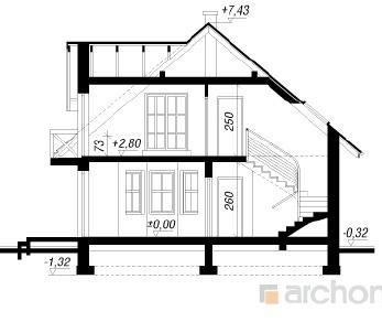 Проект  Дом под буками 4, 105.4 м2