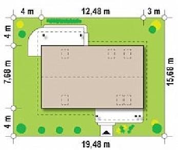 Проект дома Проект Z111, 154 м2