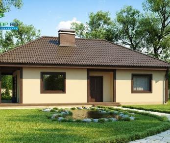 Проект дома Проект z55, 94.5 м2